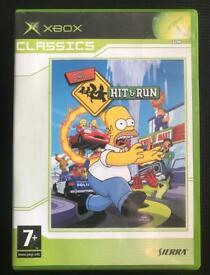 Xbox original. Simpson's hit and run game. Classic