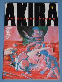 'Akira 1' Softback Graphic Novel (as new)