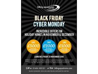 Europa Sequoia Holiday Home***BLACK FRIDAY, SAVE £3,000***Billing Aquadrome