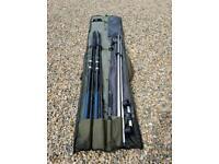 Sea/shore fishing gear 3 rods