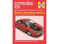 Citroen C5 Haynes Manual