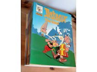 Asterix comics: full set of 30 plus 3 freebies!