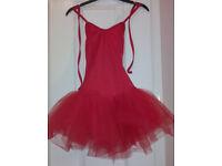 Stunning red ballet tutu