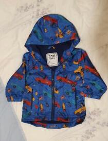 NEW light baby Mac jacket coat. Matalan. 6-9months