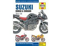 Suzuki SV650 Haynes manual