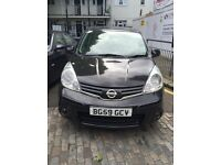 Nissan note 2009 automatic excellent condition only £2750