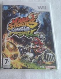 Wii game Mario Strikers, Dragon Ball z(like new )Christmas, birthday gift