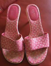 Guess shoes pink