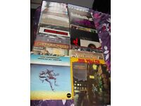 Job lot of vinyls rock includes picture discs/promos/singles readvertised due to no show