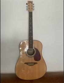 ACOUSTIC GUITAR- VINTAGE V400 - MP MAPLE