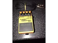 Boss Turbo Distortion Pedal DS-2 With 10ft Cable