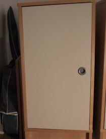 Single Door Storage cabinet/sideboard, solid wood