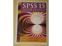 SPSS 15 Made Simple by Kinnear, Paul R, Gray, Colin D (2007)