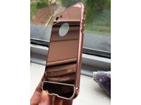 Rose gold iPhone 5 case