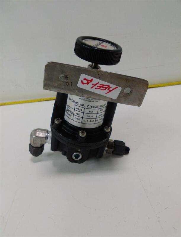 FAIRCHILD PRESSURE REGULATOR Z16490-10243