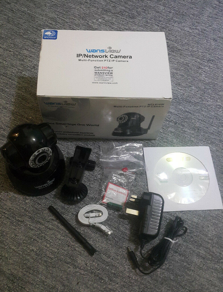 WansView IP / Network Camera  Multi-function PTZ Model: NCL616W   in  Guildford, Surrey   Gumtree