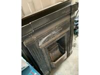 Cast Iron Fire Surround and Insert