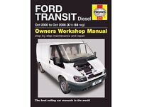 HAYNES SERVICE REPAIR MANUAL FORD TRANSIT Oct 2000 to Oct 2006 X to 56 4775 NEW