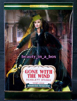 "Scarlett O'Hara Barbie Doll Gone with the Wind Timeless Treasures Drapery Dress"""