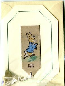 Peter Rabbit Silk Bookmark