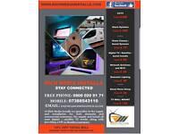 Tv aerial, satellite, alarm and cctv installer services.