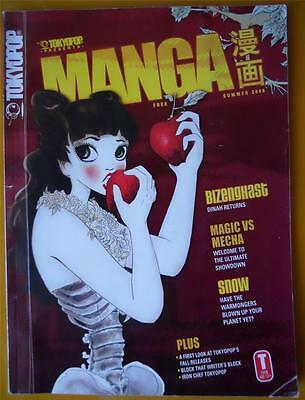 Buy Tokyopop Manga Summer 2006 Bezenghast Magic Vs Mecha Snow