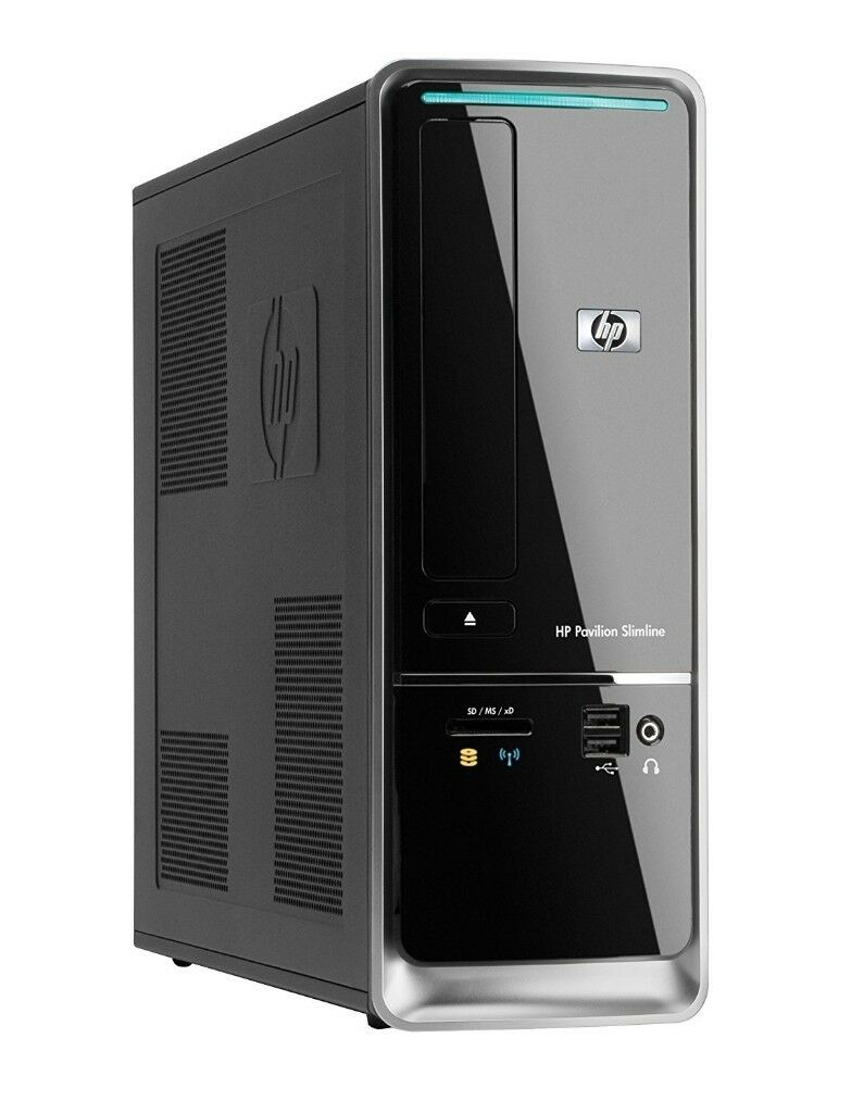 Fully Cleaned and Tested HP Slimline S5000 Desktop PC - Windows 7, Free  Office & Security