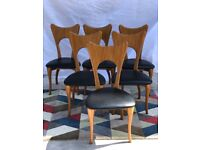 Designer Dining Chairs by Nick Scali x6 | RRP £1299