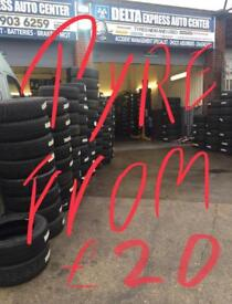 Cheap tyre sales and fitting in wembley