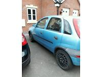2002 plate corsa for sale ideal first car.