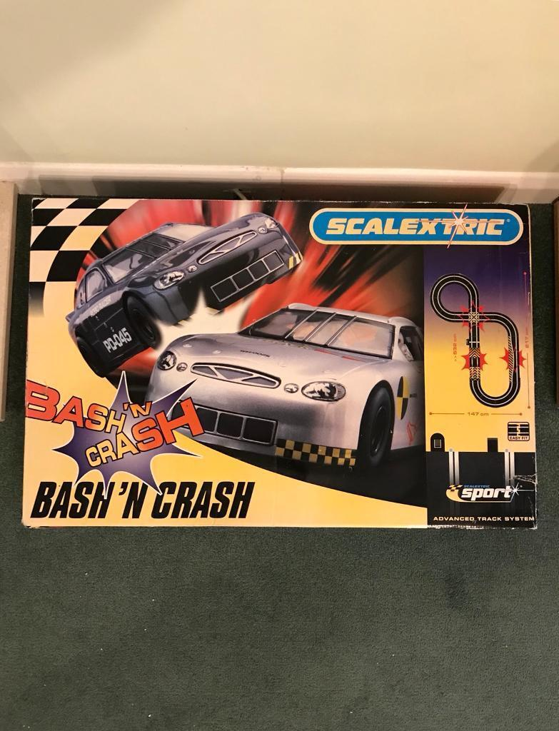 Scalextric Bash 'N' Crash Set - Fully Functional