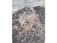 Free soil/ rubble/hardcore/ mixed soil/sand