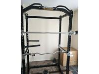 Powertec power rack £600+ new...