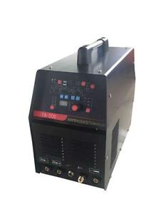 Equipment Innovations TA-200 2in1 AC/DC PULSE TIG & ARC WELDER $1099  COD AVAILABLE