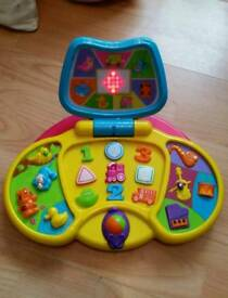 Fun learning, musical and speaking pre school console