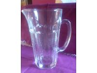 Retro-looking glass jug/ pitcher (ref JUG)