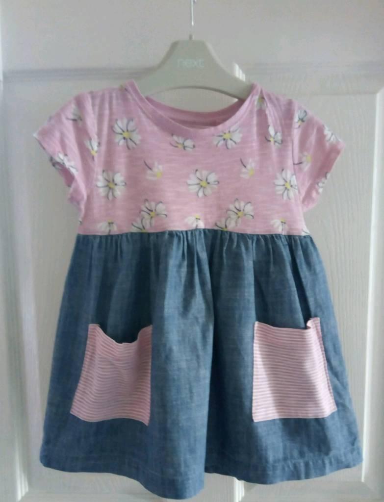 Girls Age 2-3 Tunics/Dress x 4, Next, George and Matalan