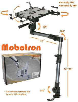 *Bundle*Mobotron Heavy-Duty Car VAN SUV Notebook Laptop Mount + Supporting Brace