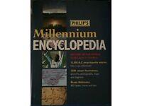 PHILIP'S MILLENNIUM ENCYCLOPEDIA HARD BACK