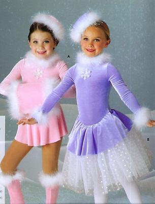 NEW ROCKETTE DANCE SKATE COSTUME VELVET ELF SNOWHOLIDAY 2 colors sequin accent](Rockette Costumes)