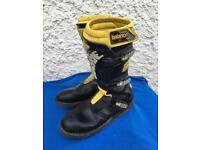 Gaerne trials motorbike boots size 10