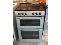 6 MONTHS WARRANTY 55CM Belling double oven electric cooker FREE DELIVERY