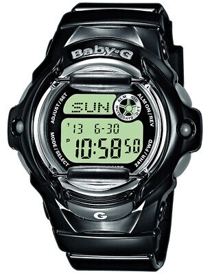 Casio Baby-G digitale Kinder Armbanduhr schwarz BG-169R-1ER Baby-g Uhren Kinder