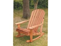 PERFECT FOR FATHER'S DAY! Outdoor Cedar Rocking Chair.