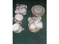 Colclough Braganza Vintage China Tea Service