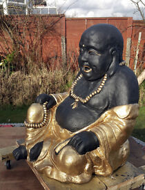 Large Laughing Buddha (Stone)