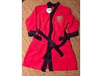 Boys Arsenal dressing down age 5-6 brand new with tags