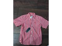 SOLD Boys Fred Perry shirt