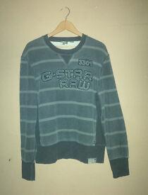 Mens Genuine G-Star Raw Sweater
