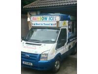 3 ford transit ice cream van for sale